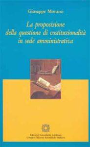 La proposizione di costituzionalità